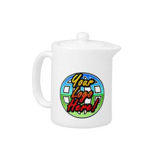 Full Color Logo Corporate Gift Custom Tea Pot