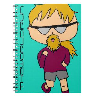 Full Color Runner Notebook #1