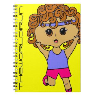 Full Color Runner Notebook #11
