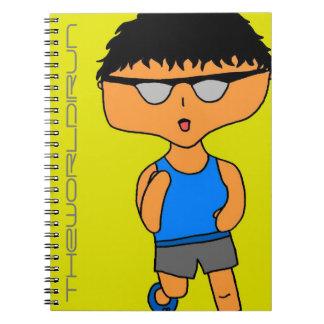 Full Color Runner Notebook #3