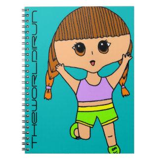 Full Color Runner Notebook #5