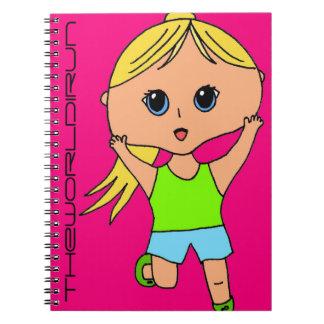 Full Color Runner Notebook #6