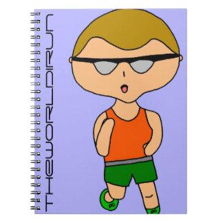 Full Color Runner Notebook #7