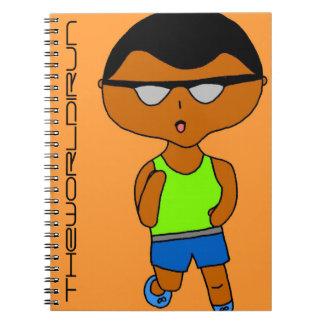 Full Color Runner Notebook #8