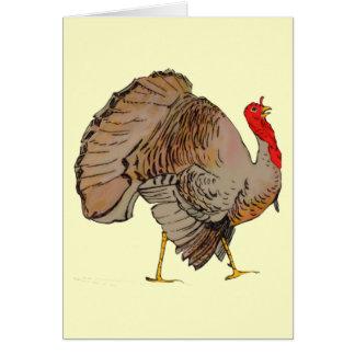 Full Color Thanksgiving Turkey Card