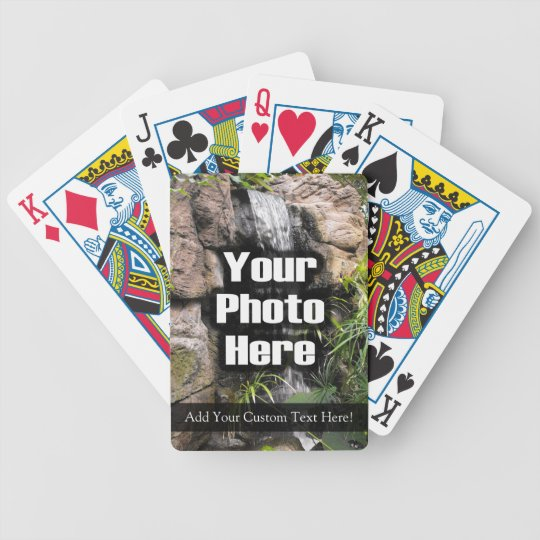 Full Colour Custom Photo/Text Playing Cards