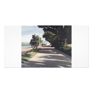 Full colour fine art illustrated photocard personalised photo card