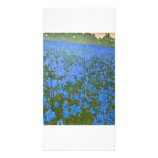 Full colour illustrated fine art photocard card