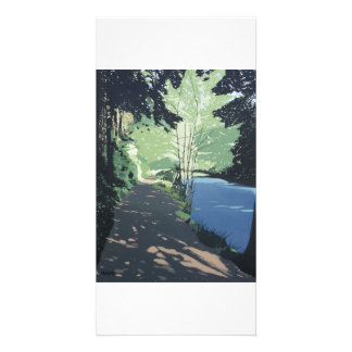 Full colour illustrated fine art photocard photo card
