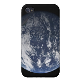 Full Earth centered over the Pacific Ocean Case For The iPhone 4