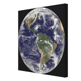 Full Earth showing Hurricane Paloma Gallery Wrapped Canvas