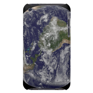Full Earth showing North America and South Amer 4 Barely There iPod Cover