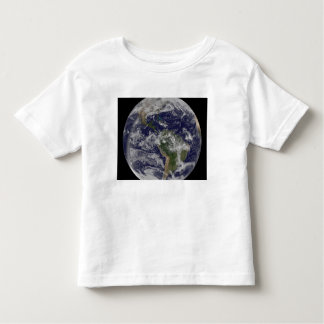 Full Earth showing North America and South Amer 4 Toddler T-Shirt