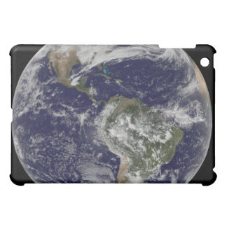 Full Earth showing North America and South Amer 6 iPad Mini Cover