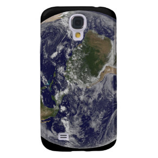 Full Earth showing North America and South Amer Galaxy S4 Case