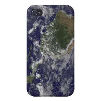 Full Earth showing North America and South Amer iPhone 4 Covers