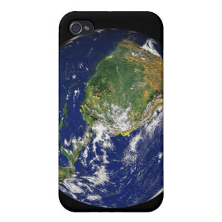 Full Earth showing South America Covers For iPhone 4