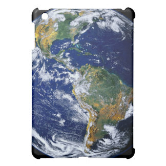 Full Earth Showing The Americas iPad Mini Cases
