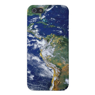 Full Earth Showing The Americas iPhone 5 Cover