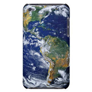 Full Earth Showing The Americas iPod Touch Case
