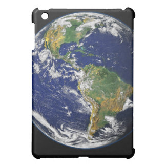 Full Earth showing the western hemisphere iPad Mini Cases