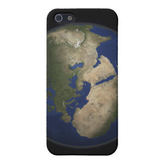 Full Earth view of Africa, Europe, and Middle E iPhone 5 Cases