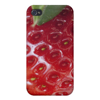 Full frame close-up of a Strawberry iPhone 4 Covers