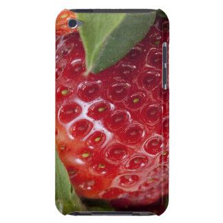 Full frame close-up of a Strawberry iPod Case-Mate Cases