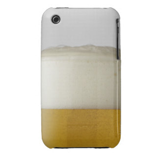 Full glass of beer indoors iPhone 3 cases