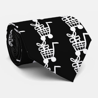 Full Groceries Pictograph Tie