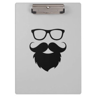 Full Grown Funny Beard Man Clipboard