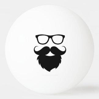 Full Grown Funny Beard Man Ping Pong Ball