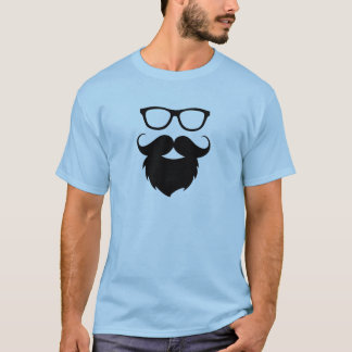 Full Grown Funny Beard Man T-Shirt