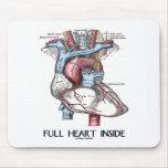 Full Heart Inside Mouse Mat