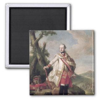 Full length portrait of Joseph II Square Magnet