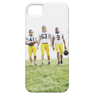 Full length portrait of rugby team iPhone 5 cases
