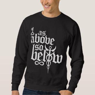 Full logo long sleeve sweatshirt