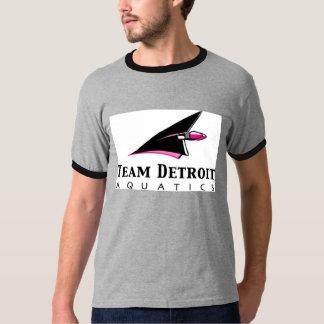 Full logo on light ringer T-Shirt