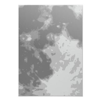 Full Luna Moon 9 Cm X 13 Cm Invitation Card