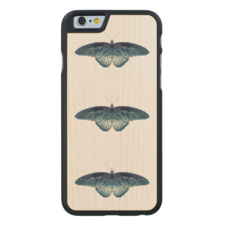 FULL METAL BUTTERFLY iPhone 5/5S Slim Wood Case Carved® Maple iPhone 6 Slim Case
