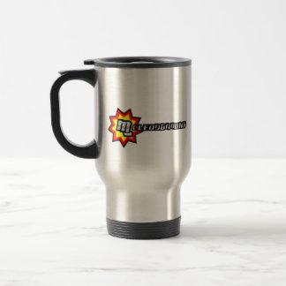 Full MG Logo Stainless Steel Travel Mug