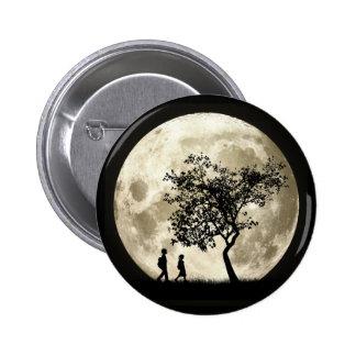 Full Moon 6 Cm Round Badge