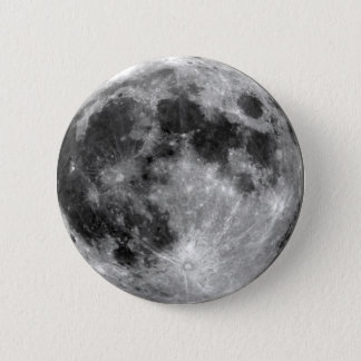 Full Moon 6 Cm Round Badge