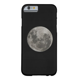 Full moon against night sky barely there iPhone 6 case