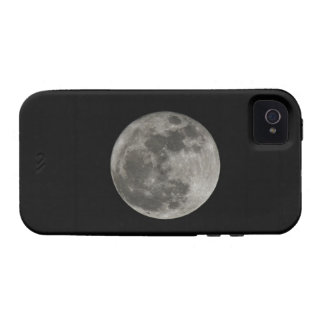 Full moon against night sky vibe iPhone 4 case