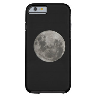 Full moon against night sky iPhone 6 case