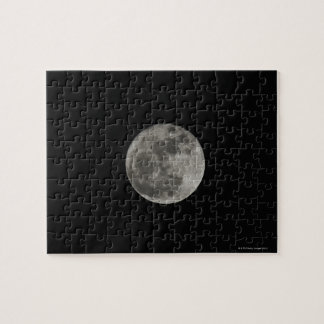 Full moon against night sky puzzles