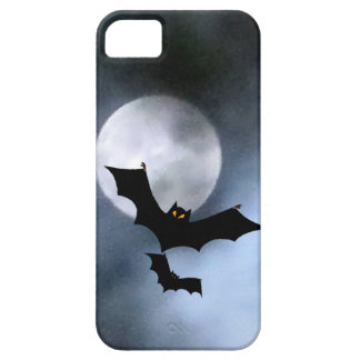 Full Moon and Bats iPhone 5 Casemate iPhone 5 Cover