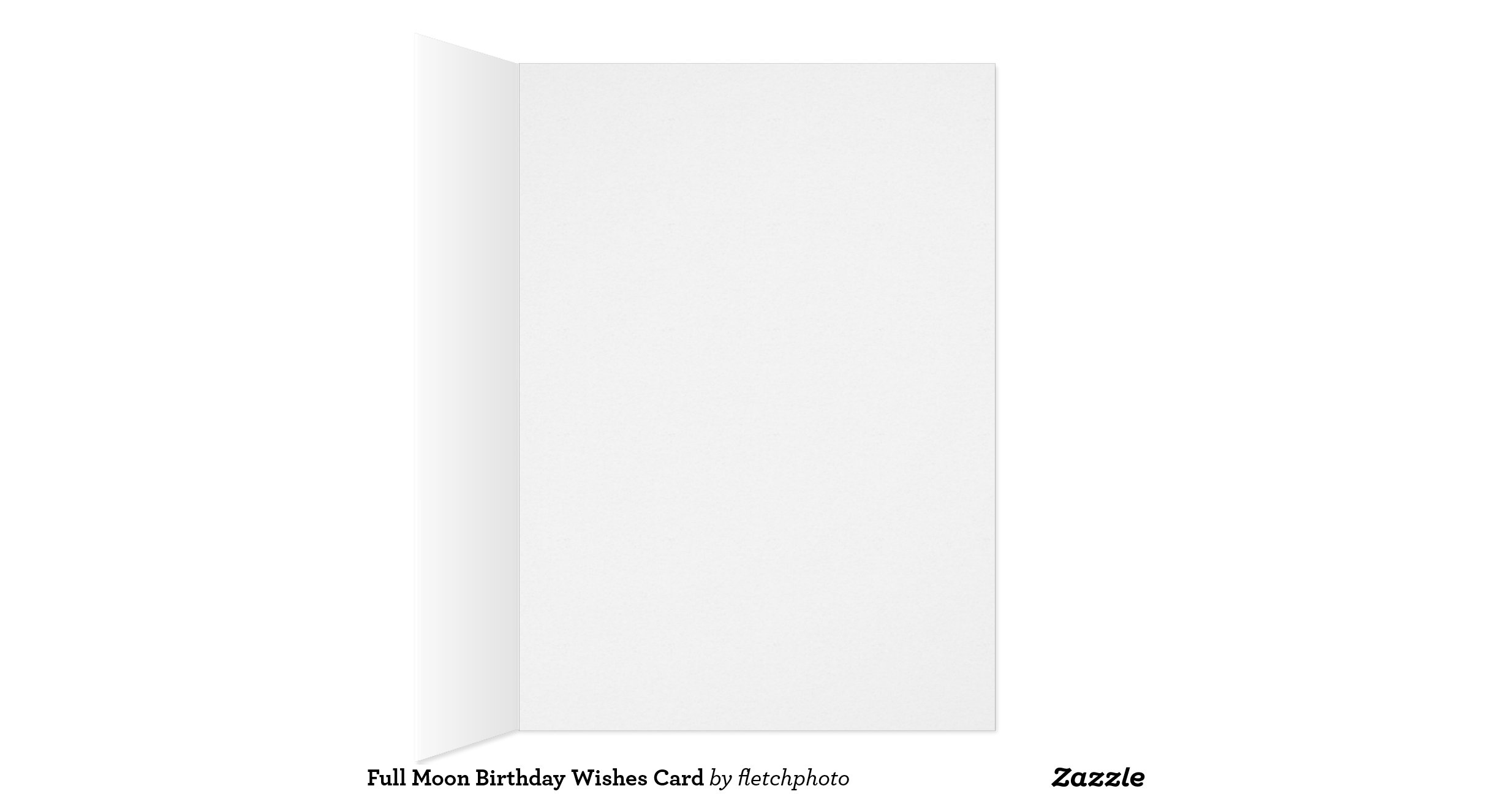 Full Moon Cards Full Moon Birthday Wishes Card