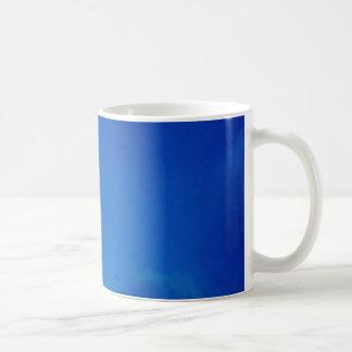 Full Moon Blue Clouds Coffee Mug